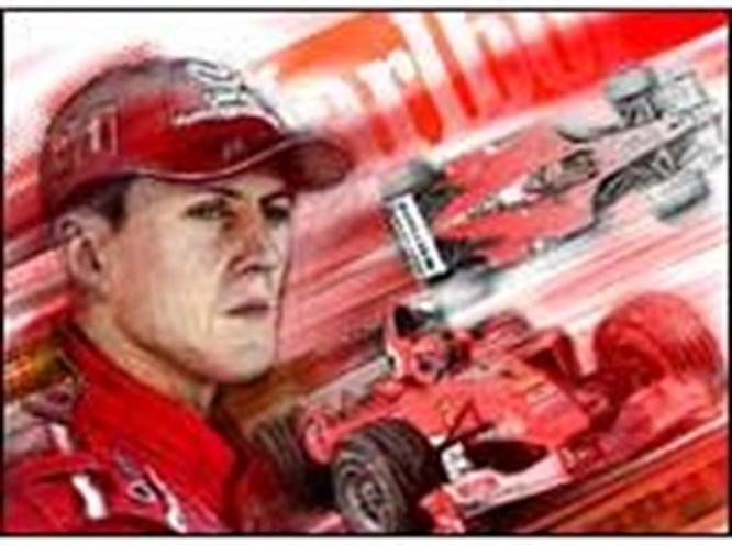 Schumacher'in 'Ferrari'si satılacak